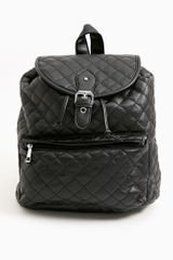 Nasty Gal Dee Quilted Backpack - Lyst
