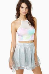 Nasty Gal Candy Melt Crop Tank - Lyst