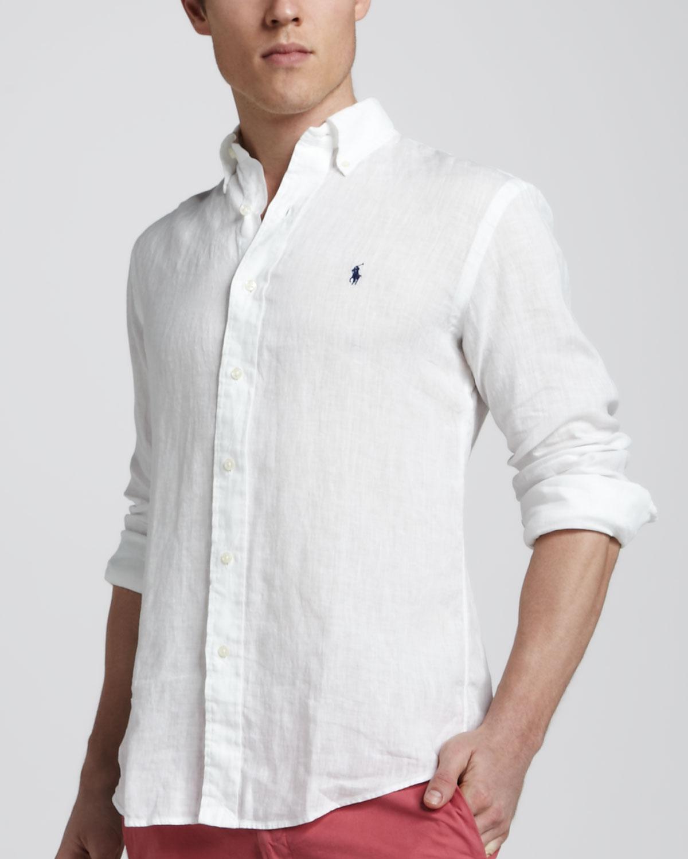 8a957 Shirt D2a56 Mennns Wholesale Linen Ralph Lauren 76bgfy