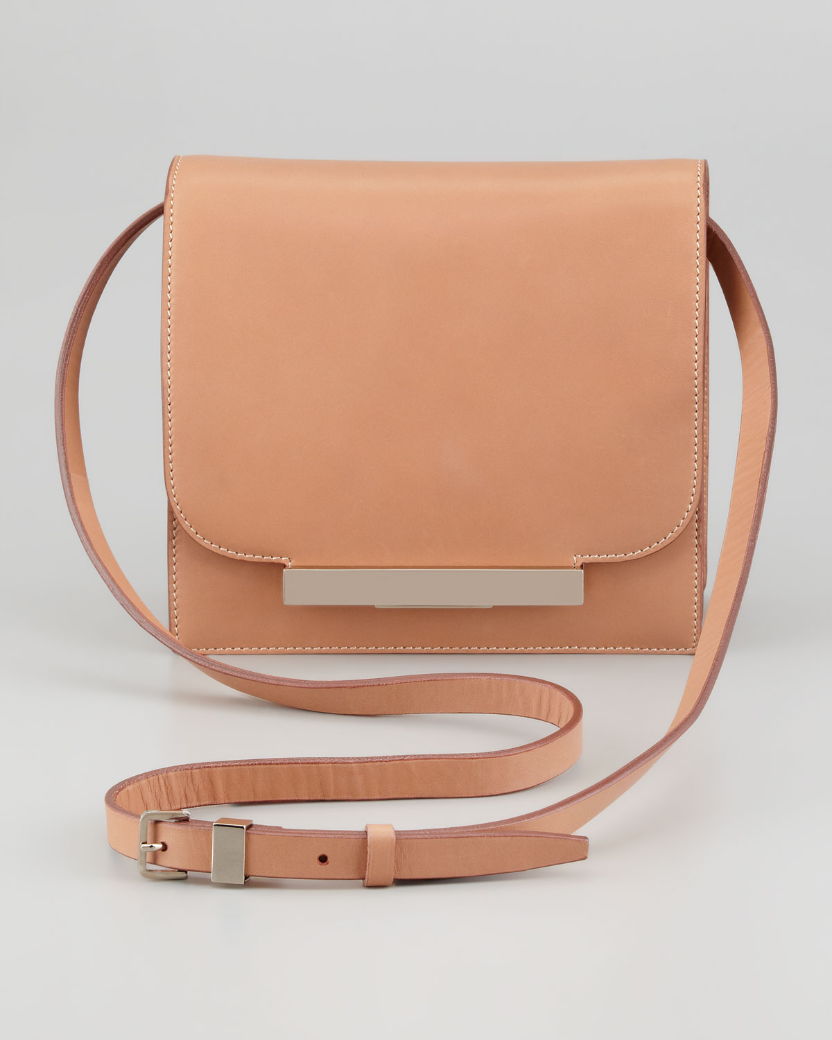 Classic Brown Leather Shoulder Bag Coach Crossbody