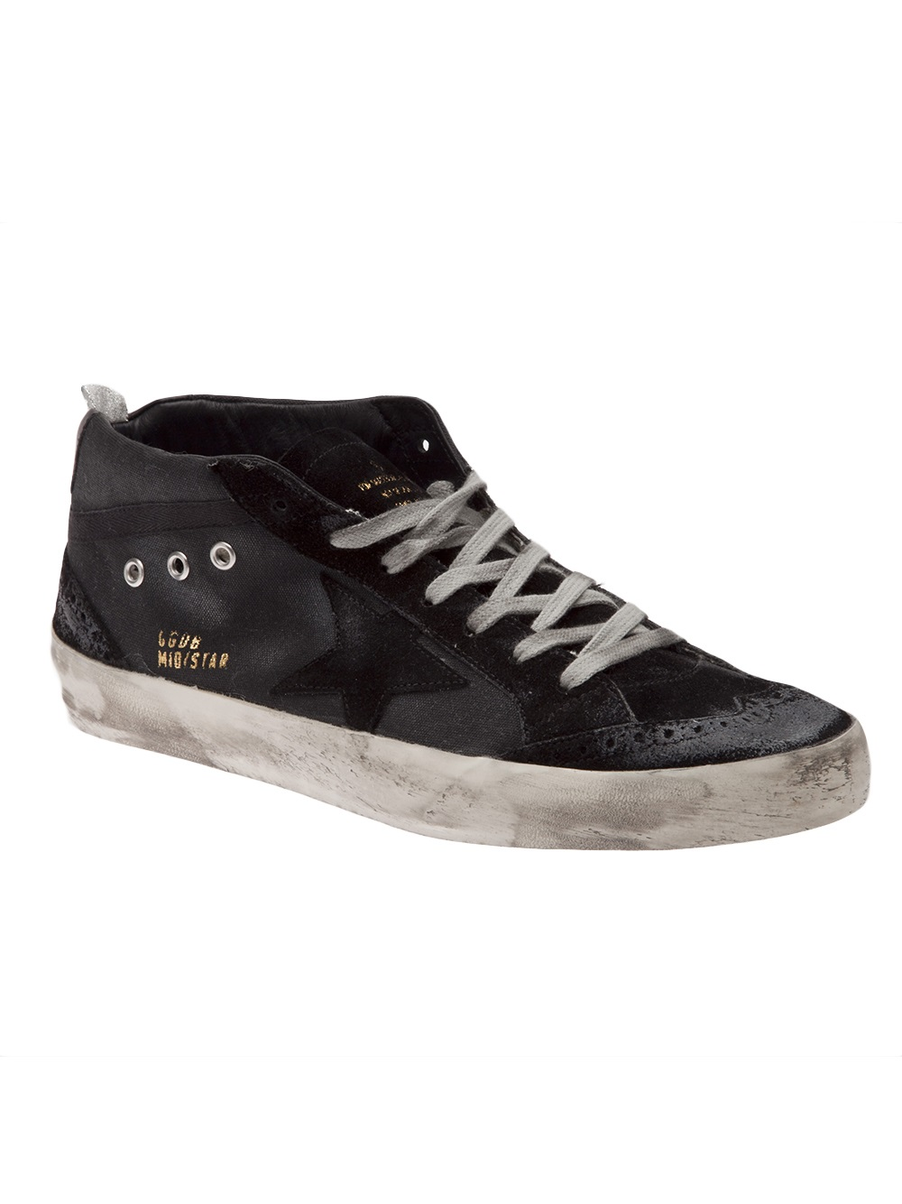Lyst - Golden Goose Deluxe Brand Midstar Shoe in Black for Men
