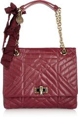 Lanvin The Happy Medium Quilted Leather Shoulder Bag - Lyst