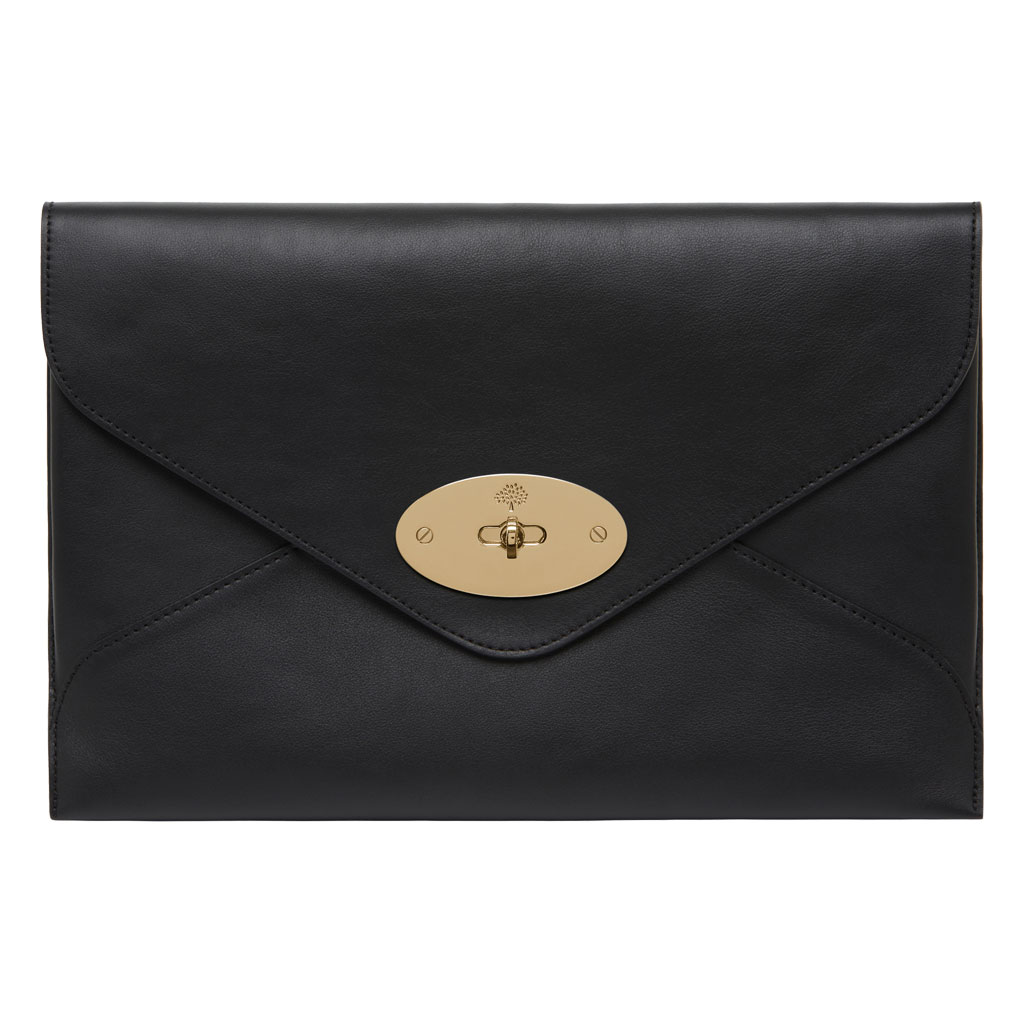 5317c9a884 Mulberry Willow Clutch in Black - Lyst