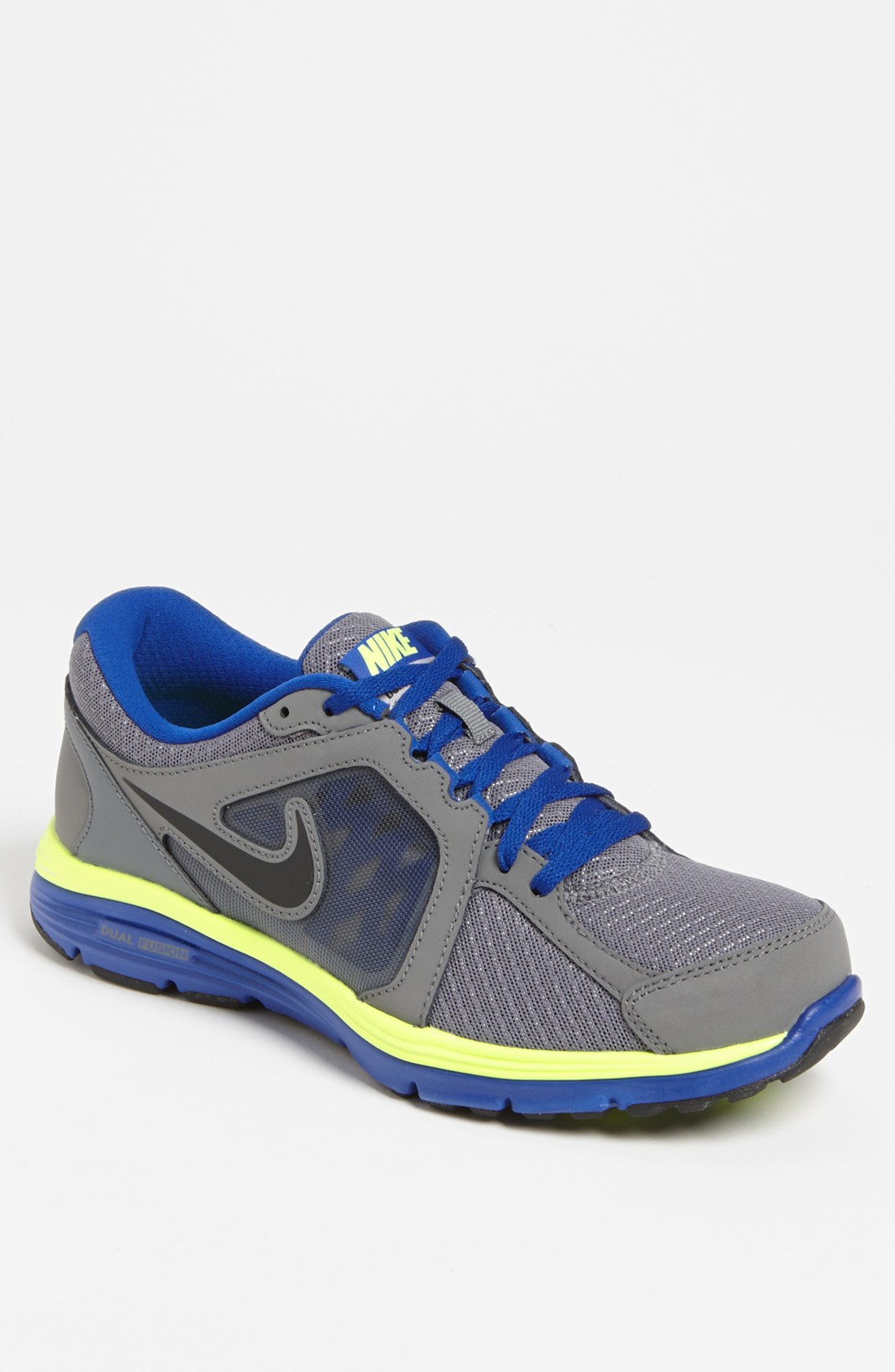 Nike Dual Fusion Run Running Shoe Men In Gray For Men