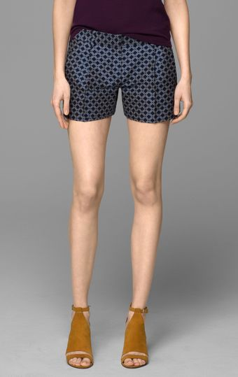 Theory Clah Stretch Cotton Short - Lyst