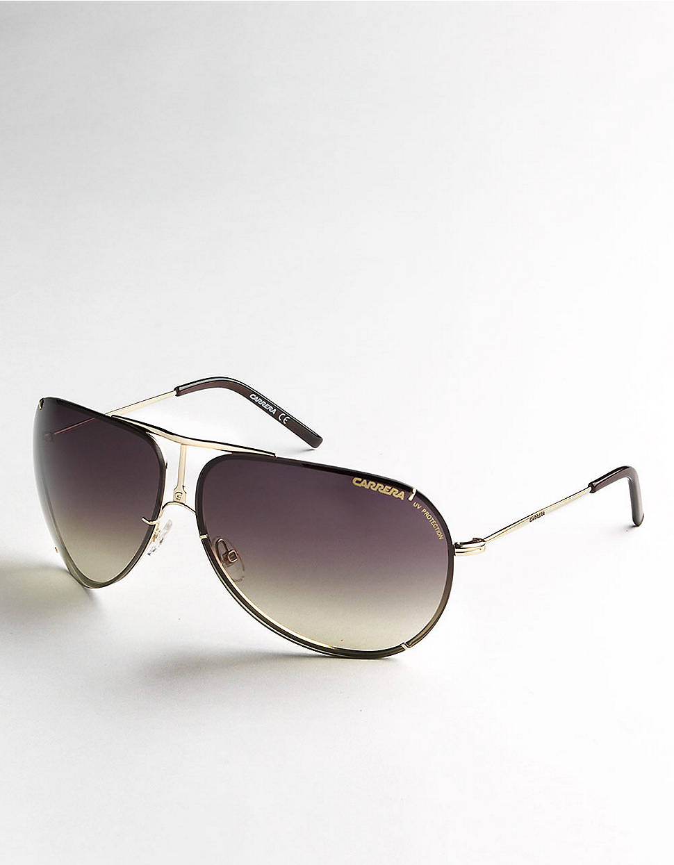 Rimless Aviator Sunglasses : Carrera Rimless Aviator Sunglasses in Purple for Men ...