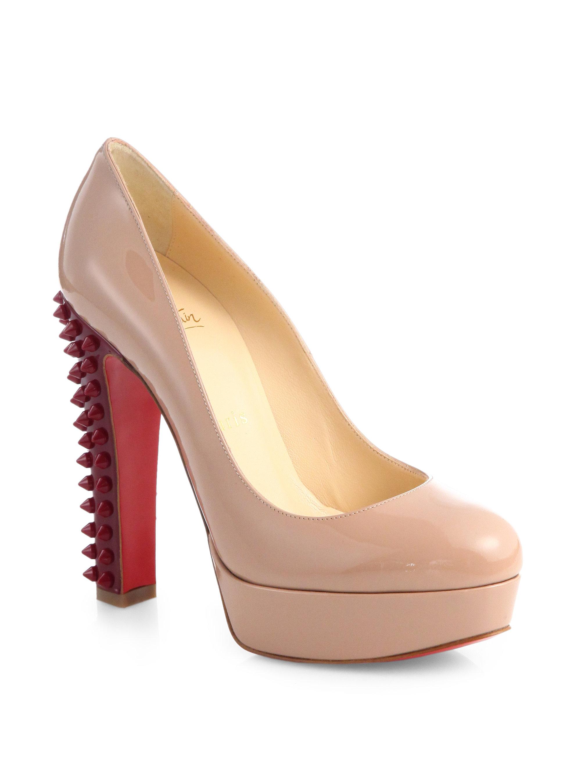 christian louboutin man shoes - christian louboutin exagona glitter platform pumps