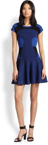Diane Von Furstenberg Renee Fit-flare Dress - Lyst