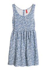 H&M Patterned Dress - Lyst
