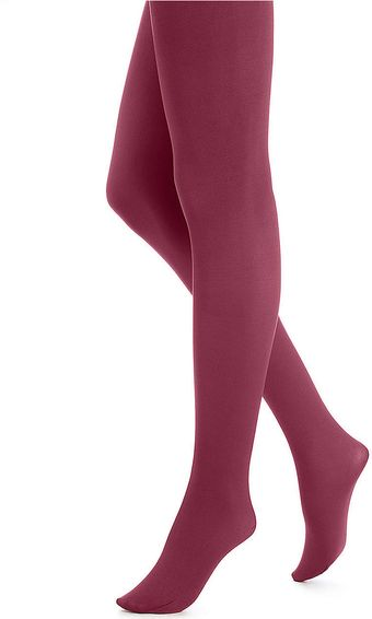Hue Super Opaque Tights - Lyst