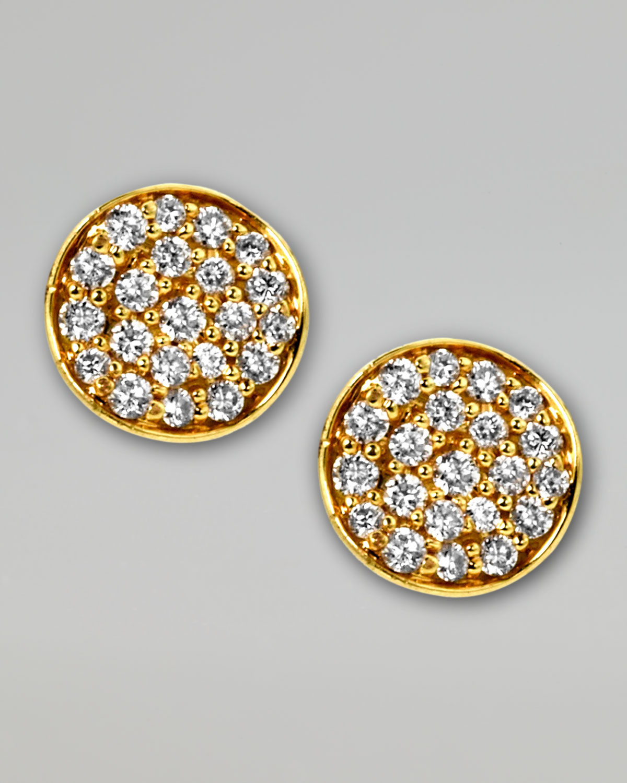Ippolita Stardust Mini Diamond Stud Earrings p7F0QV