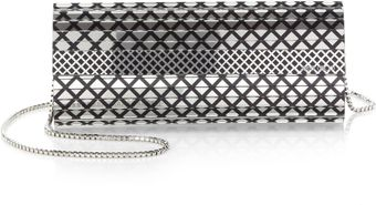 Jimmy Choo Sweetie Printed Mirrored Clutch - Lyst