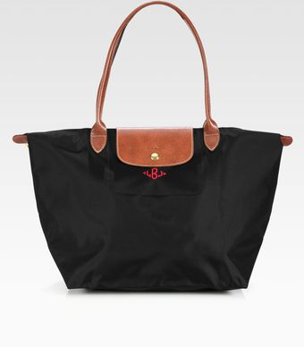 Longchamp Personalized Le Pliage Tote - Lyst