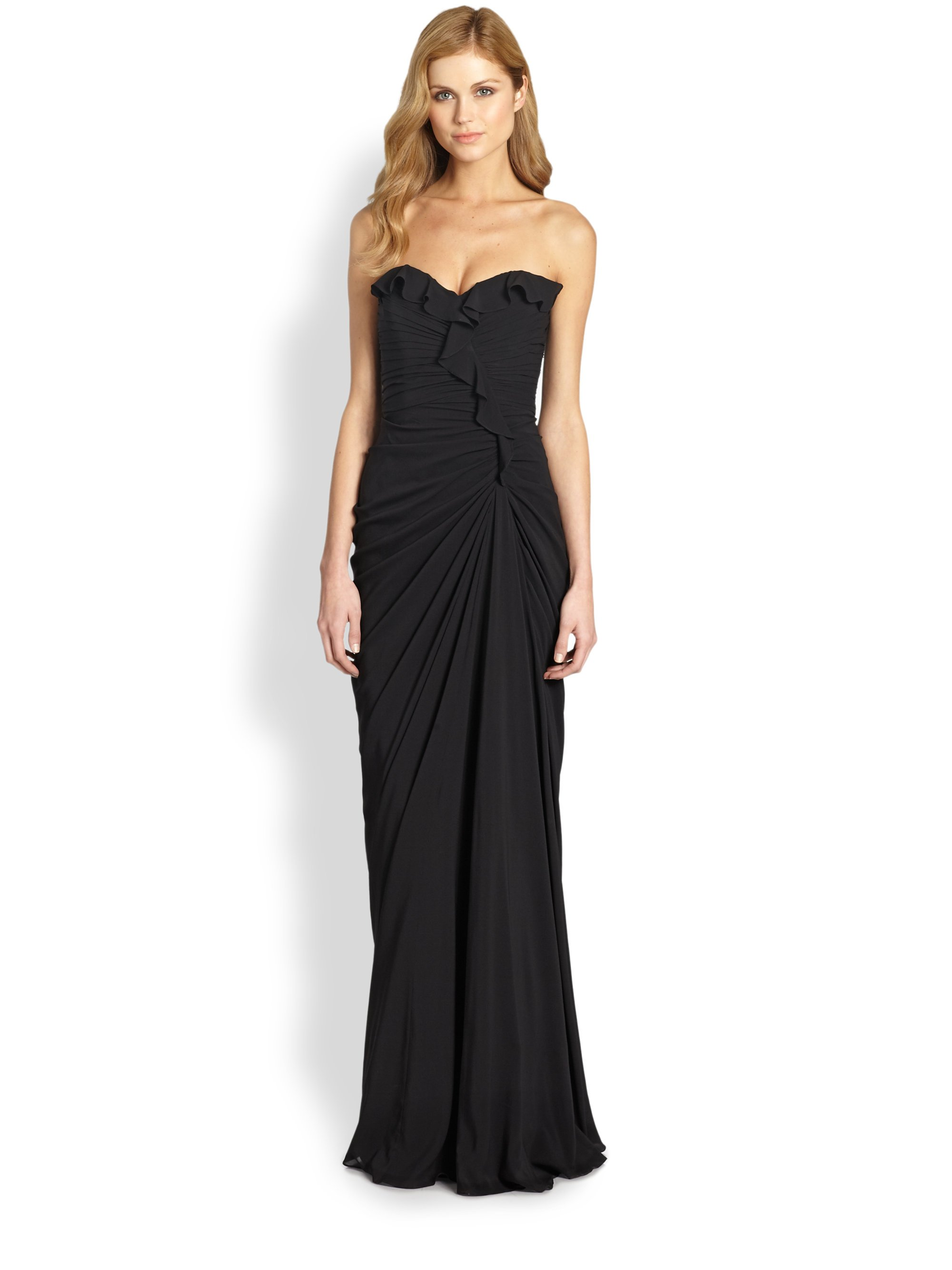 Images of Black Sweetheart Strapless Dress - Best easter gift ever