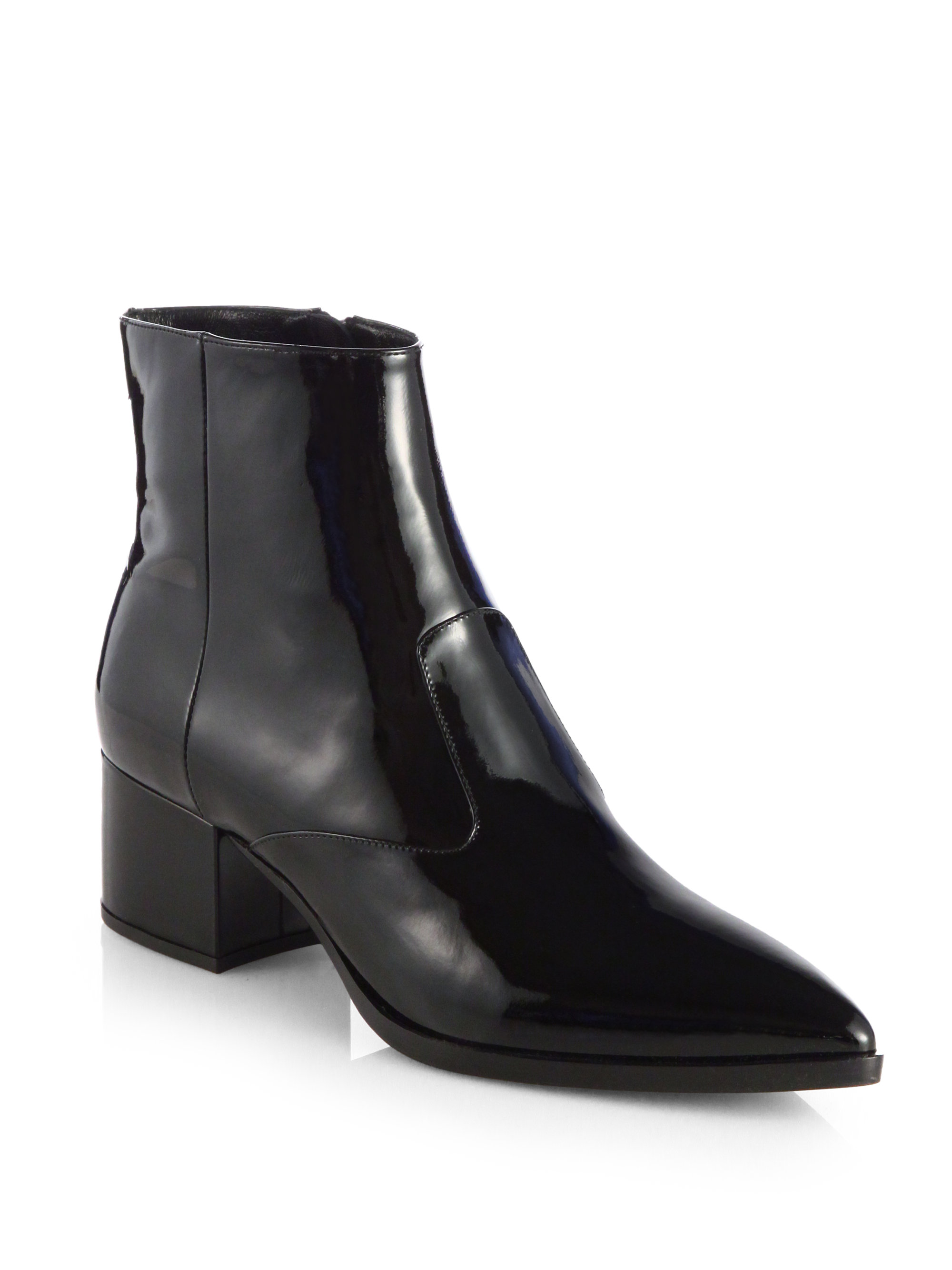 Miu Miu Patent Leather Platform Booties ebay sale online limited edition cheap price popular for sale buy cheap fashionable really online nRXp9K