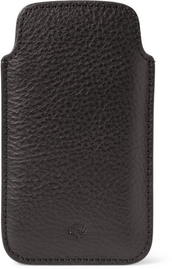 Mulberry Leather Iphone 5 Cover - Lyst