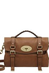 Mulberry Alexa Soft Buffalo Satchel - Lyst