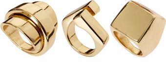 River Island Chunky Ring Pack - Lyst