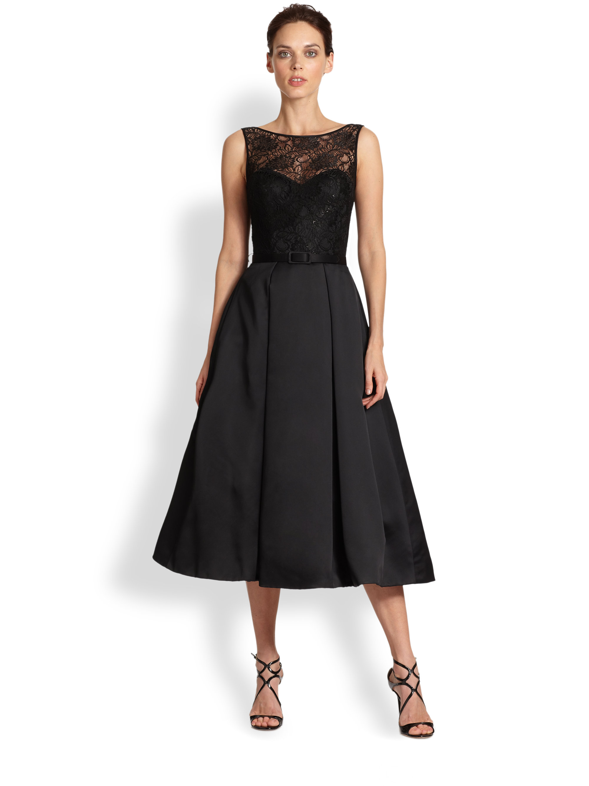 Images of Black Lace Top Dress - Giftlist