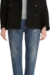 Acne Edge Peacoat - Lyst