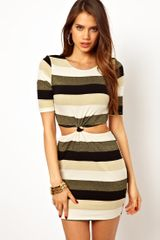 Ax Paris AX Paris Stripe Dress - Lyst