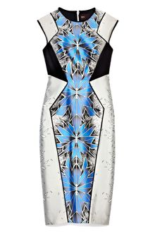 Bibhu Mohapatra Steel Morph Print Day Dress - Lyst