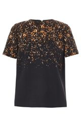 Burberry Prorsum Pony-skin Print Wool Top - Lyst