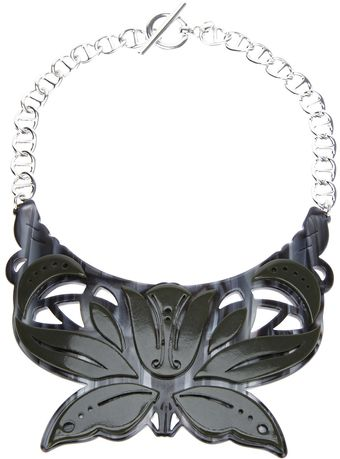 Carven Petit Collier Plexi Necklace - Lyst