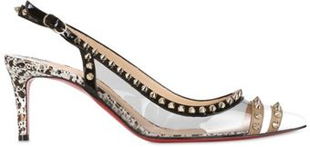 Christian Louboutin 70mm Manovra Patent Pumps - Lyst
