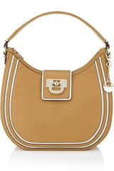 DKNY Vintage Leather Hobo Bag - Lyst