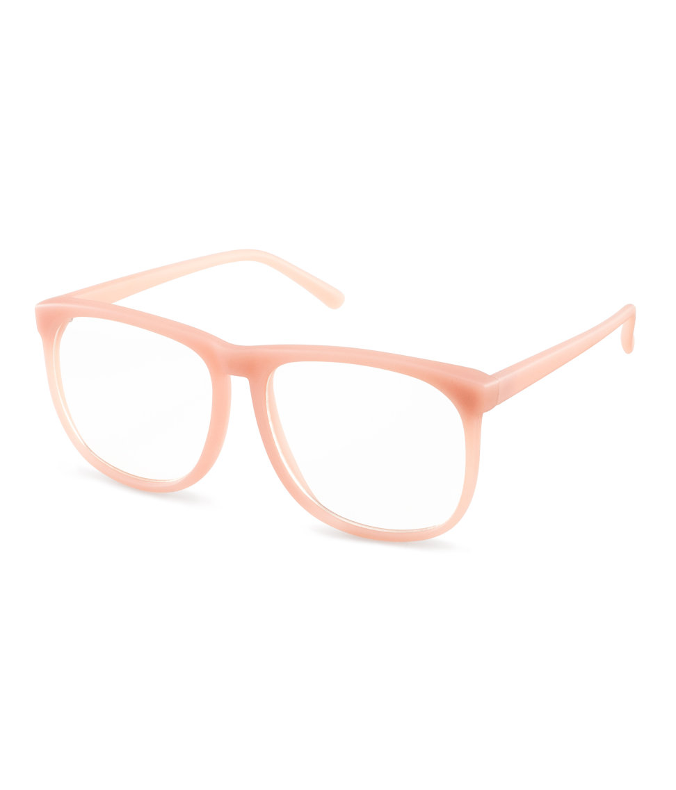 H&M Glasses in Pink - Lyst