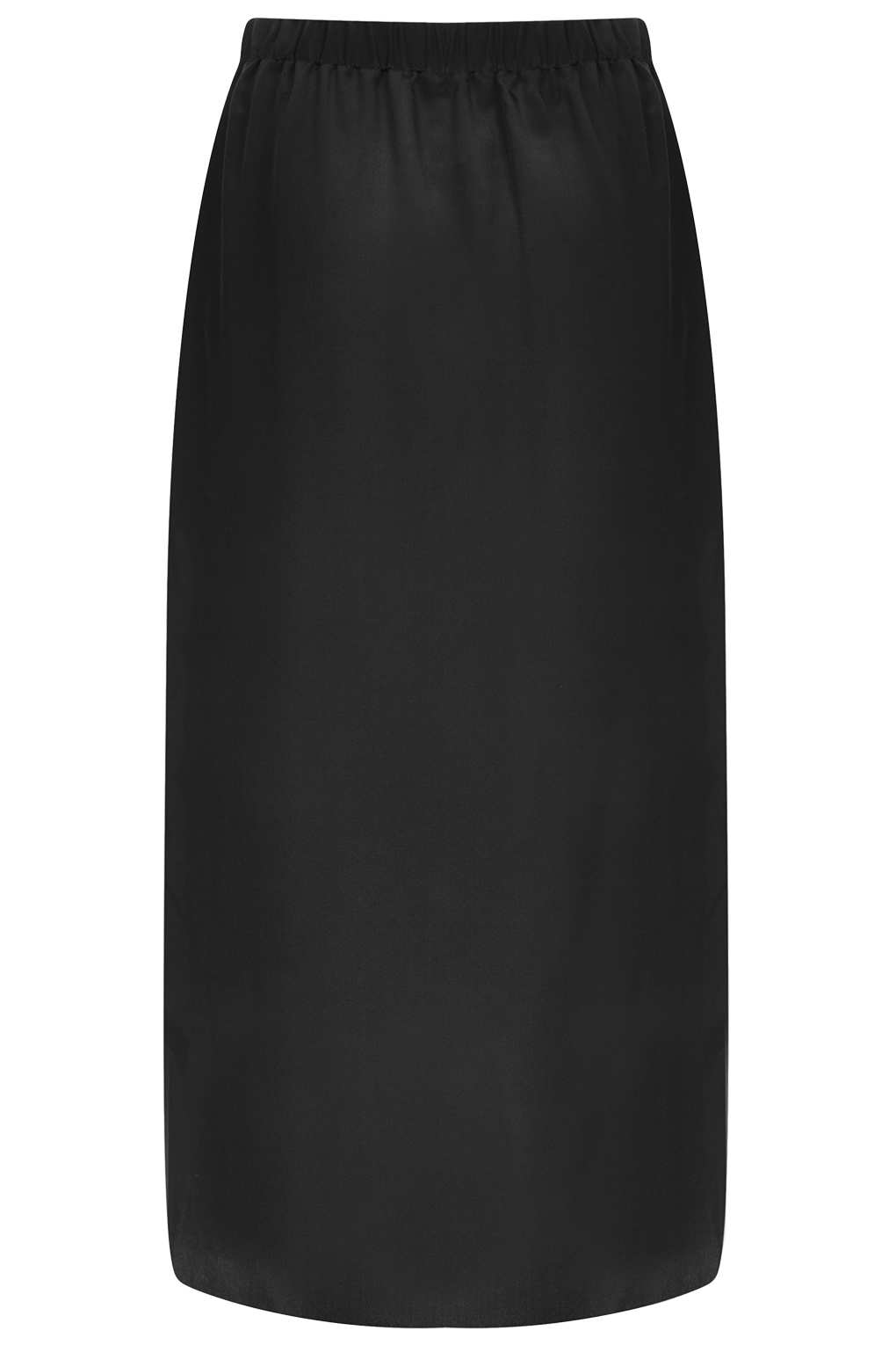 Topshop Silk Wrap Skirt By Boutique in Black | Lyst