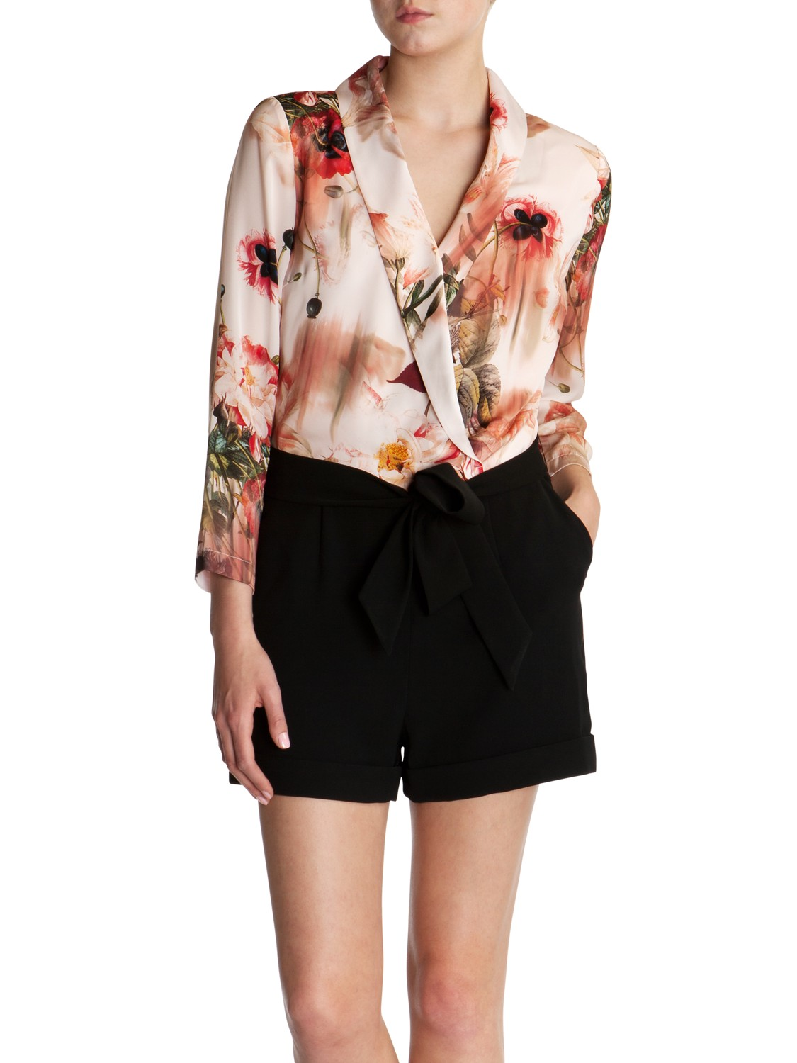 d972c0bcd36ef Ted Baker Jealow Playsuit in Pink - Lyst