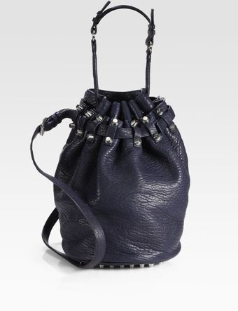 Alexander Wang Diego Pebble Leather Bucket Bag - Lyst