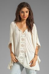 Free People Rave On Top in Ivory - Lyst