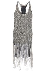 Jo No Fui Beaded Vest Top - Lyst