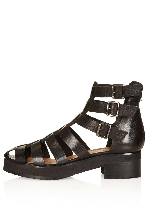 Topshop Gladiator Heels