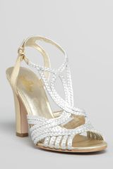Belle By Sigerson Morrison Alice Strappy High Heel Sandals - Lyst