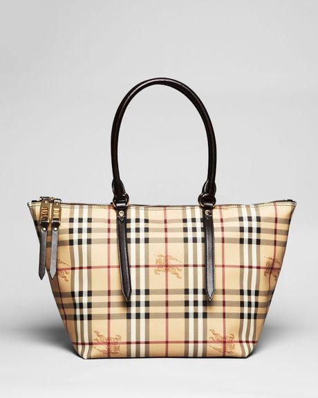 Burberry Tote Small Salisbury in Brown (chocolate) - Lyst