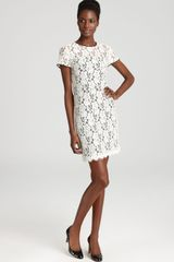 Diane Von Furstenberg Dress Lace - Lyst