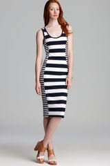 French Connection Dress Fun Stripe - Lyst