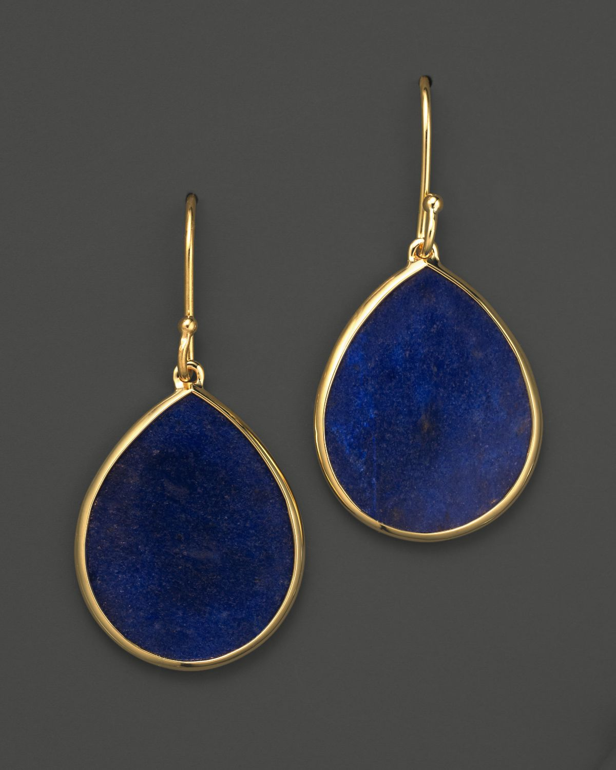 il market earrings lapis etsy