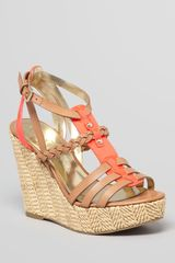 Ivanka Trump Platform Wedge Sandals