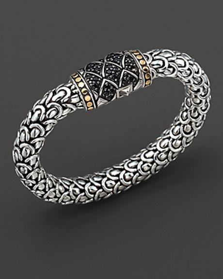 John Hardy Naga Lava Gold Silver Large Chain Bracelet In