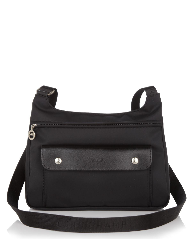 bffd73c3b2f5 Lyst - Longchamp Planetes Messenger Bag in Black