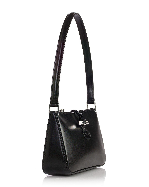 3908a9f1fe2d Lyst - Longchamp Roseau Shoulder Bag in Black
