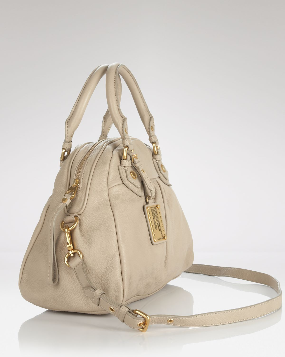 Marc By Marc Jacobs Satchel Classic Q Baby Aidan In Gray
