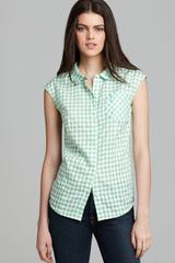 Marc By Marc Jacobs Top Tiffany Check - Lyst