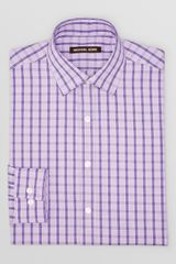 Michael Kors Check Dress Shirt Regular Fit - Lyst