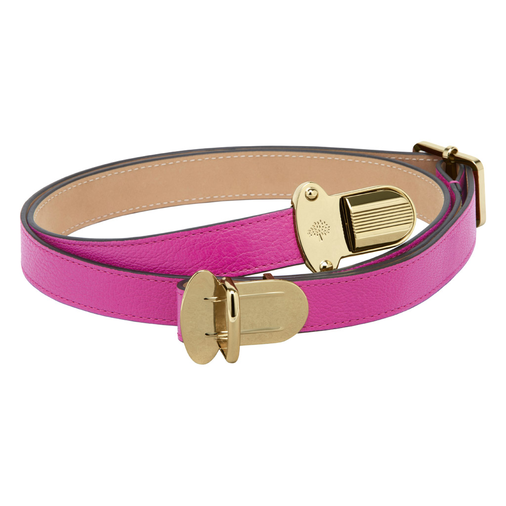 Mulberry Womens Push Lock Belt In Pink Lyst